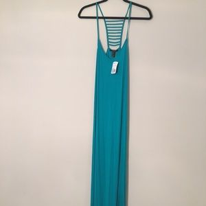 Teal Maxi Dress NWT